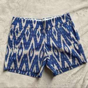 J.Crew Aztec Side Zip Shorts Chino City Fit 00